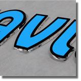 litere din plexiglas