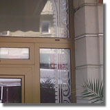 litere autocolant, sablare geamuri