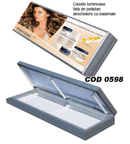 casete luminoase profile aluminiu
